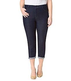 NYDJ® Plus Size Alina Convertible Ankle Jeans