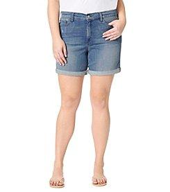 NYDJ® Plus Size Jessica Boyfriend Shorts
