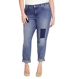 NYDJ® Plus Size Sylvia Relaxed Boyfriend Jeans