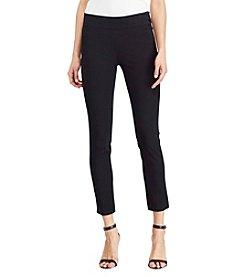Lauren Ralph Lauren® Petites' Skinny Crop Pants
