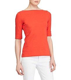 Lauren Ralph Lauren® Elbow Sleeve Top