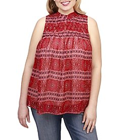 Lucky Brand® Plus Size Tucked Tank