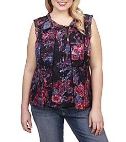 Lucky Brand® Plus Size Audrey Floral Tank