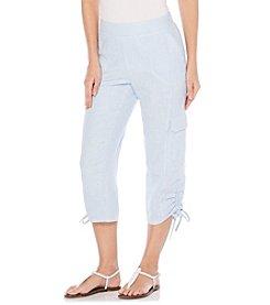 Rafaella® Petites' Stripe Pull On Pants