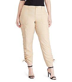 Lauren Ralph Lauren® Plus Size Twill Cargo Pants