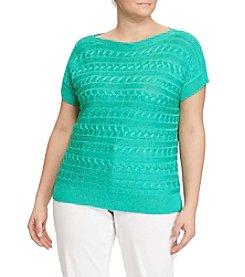 Lauren Ralph Lauren® Plus Size Boatneck Sweater