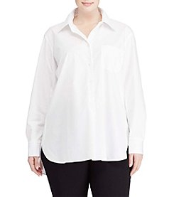 Lauren Ralph Lauren® Plus Size Long Sleeve Shirt