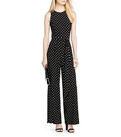 Lauren Ralph Lauren® Dot Tie Jumpsuit