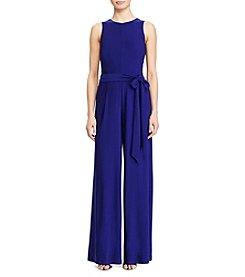 Lauren Ralph Lauren® Tie Waist Jumpsuit