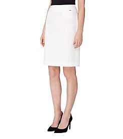 Tahari ASL® Side Zip Skirt