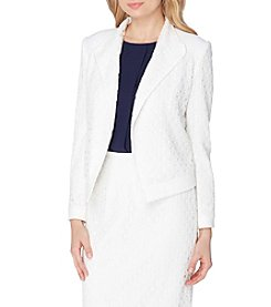Tahari ASL® Lace Wing Collar Jacket