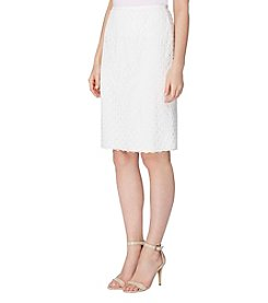 Tahari ASL® Lace Pencil Skirt