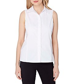 Tahari ASL® Sleeveless Collared Top