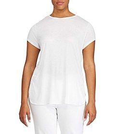 Lauren Ralph Lauren® Plus Size Jersey Tee