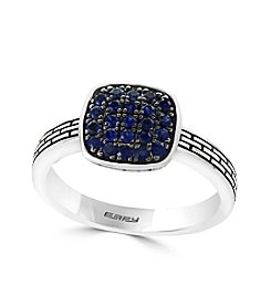 Effy® 925 Collection Sterling Silver Sapphire Ring