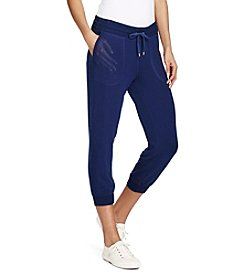 Lauren Ralph Lauren® Cropped Skinny Sweatpants