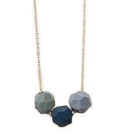 Jenna Vanden Brink Ceramics Three Bead Necklace