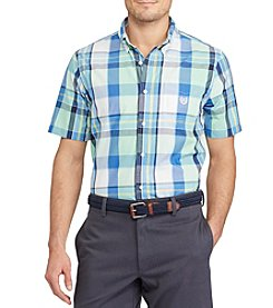 Chaps® Classic Fit Plaid Easy Care Button Down Shirt