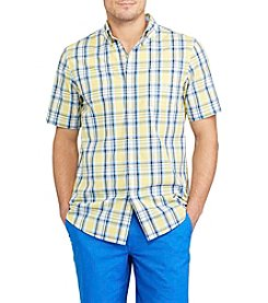 Chaps® Men's Short Sleeve Plaid Button Down Shirt