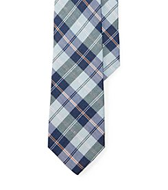 Lauren Ralph Lauren® Men's Plaid Linen-Cotton Tie
