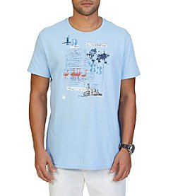 Nautica® Men's Big & Tall Ellis Island Crew Tee