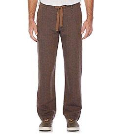 Perry Ellis® Men's Drawstring Linen Pants