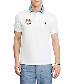 Polo Ralph Lauren® Men's Short Sleeve American Flag Polo Shirt
