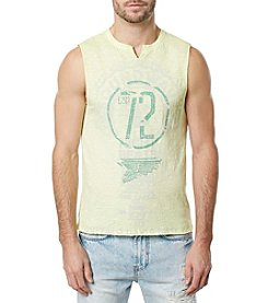 Buffalo by David Bitton Men's Sleeveless Crewneck Muscle Tank