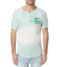 Buffalo by David Bitton Men's Short Sleeve Crewneck Henley