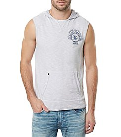Buffalo by David Bitton Men's Hooded Muscle Tank