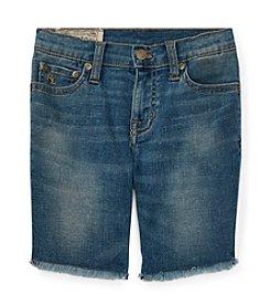 Polo Ralph Lauren® Boys' 2T-7 Boys Denim Cutoff Shorts