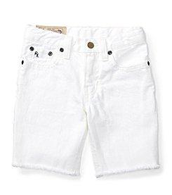 Polo Ralph Lauren® Boys' 2T-7 Boys Cutoff Denim Shorts