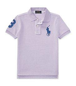 Polo Ralph Lauren® Boys' 2T-7 Short Sleeve Polo Shirt