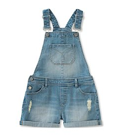 Calvin Klein Jeans Girls' 7-16 Shortalls