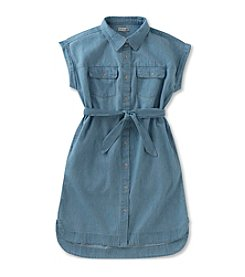 Calvin Klein Jeans Girls' 7-16 Jean Shirt Dress