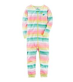 Carter's® Girls' 1-Piece Snug Fit Footless Pajamas