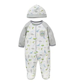 Little Me® Baby Boys' Tiny Dinos Footie and Hat Set
