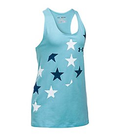 Under Armour® Girls' 7-16 Star Print Tank Top