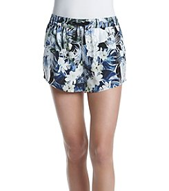Kensie® Tropical Blues Soft Shorts