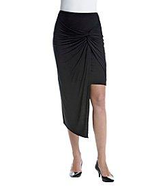 Kensie® Asymmetrical Hem Skirt