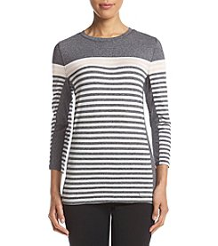Calvin Klein Striped Thermal Top