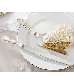 Kate Aspen Elegant Ceramic Cake Serving Set