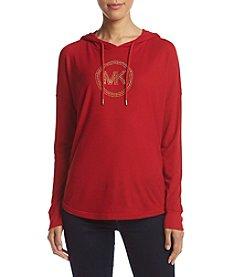 MICHAEL Michael Kors® Drop Shoulder Logo Top
