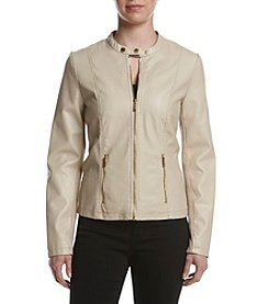 Calvin Klein Center Zip Moto Jacket