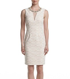 Eliza J® Lace Sheath Dress