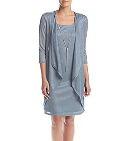 R&M Richards® Metallic Dress