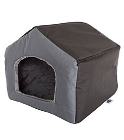 Cozy Cottage House-Shaped Pet Bed