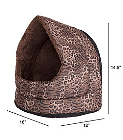 Cozy Canopy Pet Cave Bed