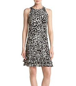 Prelude® Halter Neckline Printed Dress