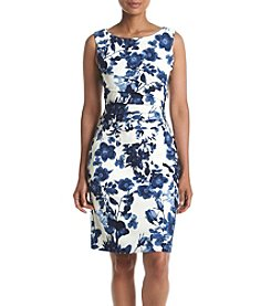 Ivanka Trump® Printed Scuba Knit Dress